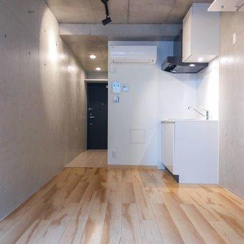 シンプルな間取りで家具の配置もしやすそう。※写真は前回募集時のものです
