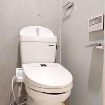 温水洗浄便座が嬉しいですね。※写真は前回募集時のものです