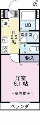 クレセント西新宿II の間取り