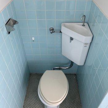 トイレはややコンパクト