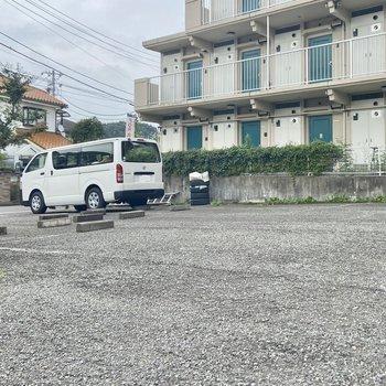 敷地内に駐車場もあります。※要空確認