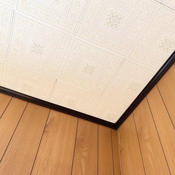 【洋6西】素敵な天井のお部屋です。