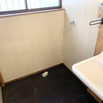 洗濯機置場もしっかり室内です。