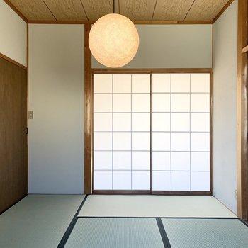 【和6】建具と照明が素敵なザ・和の空間。
