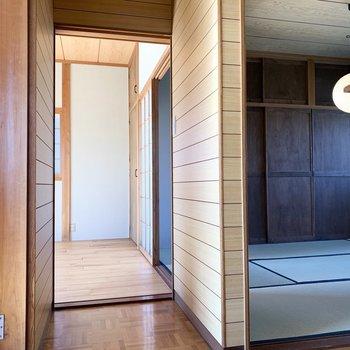 2階にはお部屋が3室。