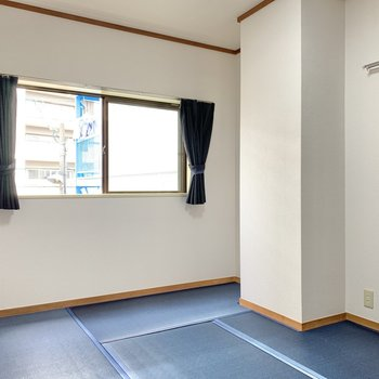 和室は珍しい青色!シック◎