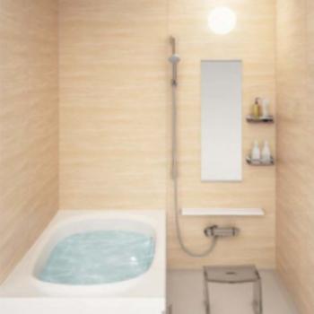 【イメージ】ゆったりめのお風呂も新しく。