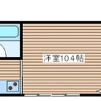 奥の洋室は寝室として使おうかな!戸を開けたら大きなワンルームに!