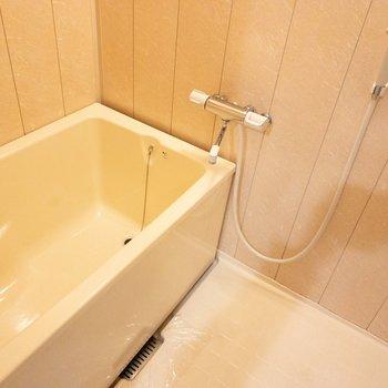ちょっとレトロな雰囲気のお風呂。
