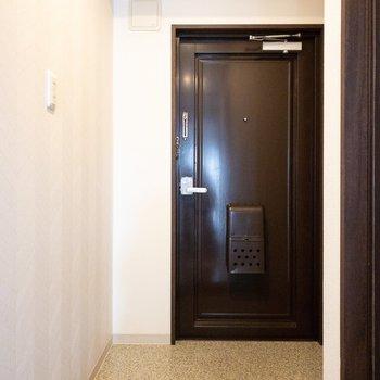 玄関の広さは申し分なし!