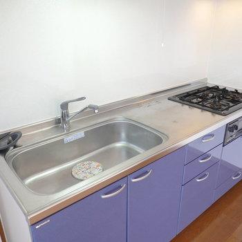 スペースが広く、料理にこだわることも簡単。