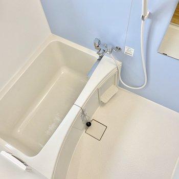 ゆったりお湯に浸かれそう。洗い場も広々。※写真は前回募集時のものです