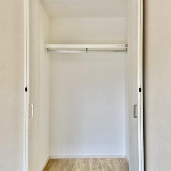 【洋室】収納は天井までたっぷり!※写真は前回募集時のものです