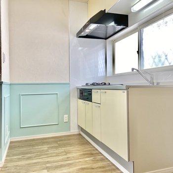 【LDK】キッチンを見てみましょう。 ※写真は前回募集時のものです