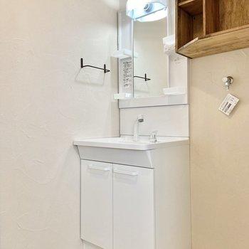 忙しい朝に嬉しい独立洗面台。※写真は前回募集時のものです