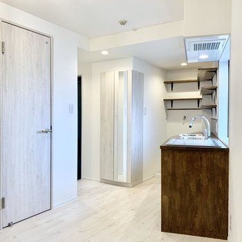 壁も床もすべての素材が美しくてうっとりしますよ。