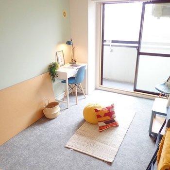 【家具イメージ】低めの家具ならお部屋も広く見せれそう◎