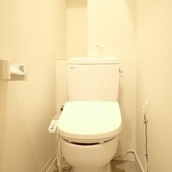 トイレはウォシュレット付きに変更されました!