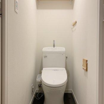 トイレも新しくしたんだもん!