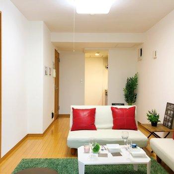 【LDK】家具はコンパクトなものが良さそう。