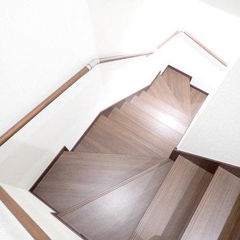 さて2階のお部屋に行きましょう。
