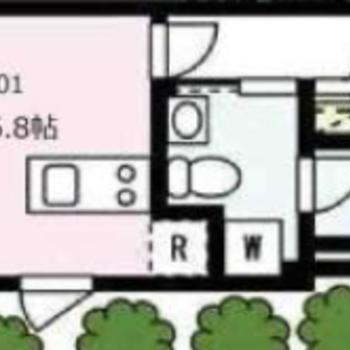 1Rタイプのお部屋です。