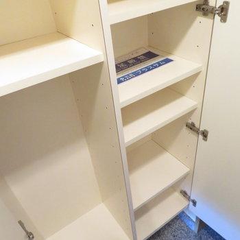 大きなシューズボックス(※写真は3階の反転間取り別部屋のものです)