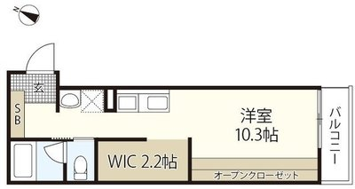 海田町成本共同住宅 の間取り