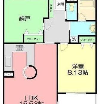 子供部屋や寝室もしっかりと作れます。