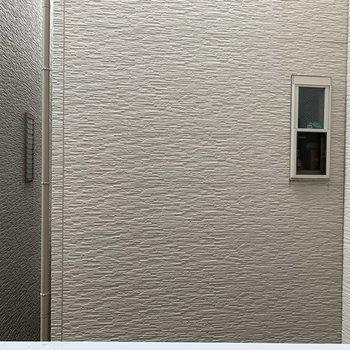 眺望は2階ということもあり望めません…