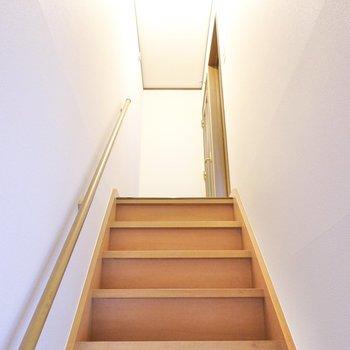 手すりつきの階段を上がって3階も見てみましょう。