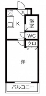 日本文化「瓦」を望む の間取り