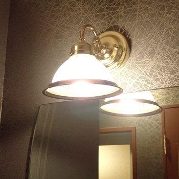 ランプにもこだわりあり。