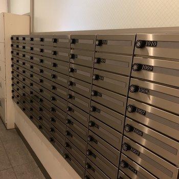 メールボックス、宅配ボックスもありますよ。