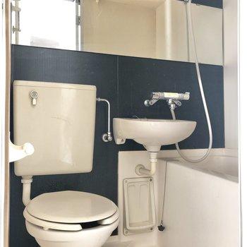 お風呂は横長の鏡が活躍しそう。
