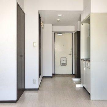 廊下とお風呂場には段差があります。