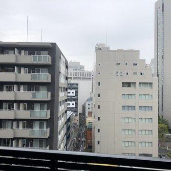 10階なので視界が開けています。