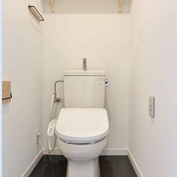 爽やかなトイレ空間。