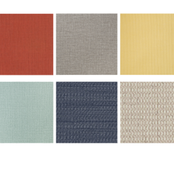 【カスタマイズイメージ③】壁の一面に貼るアクセントクロスの色を選べる!いろんな色がありますよ。