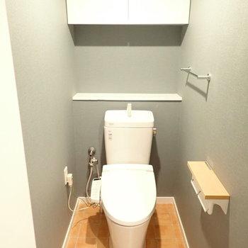 トイレはカフェっぽい内装!お店みたい!