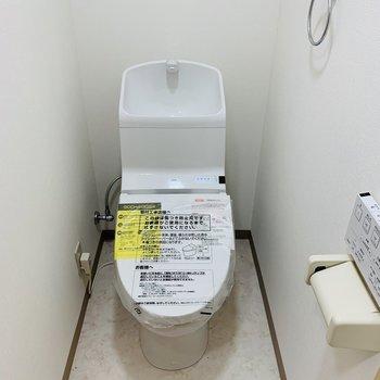 おトイレは程よいスペース