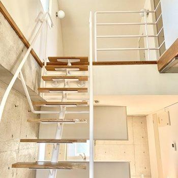さぁ、そして2階へ。