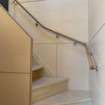 階段を上がって、最後のお部屋へ。※写真は前回募集時のものです
