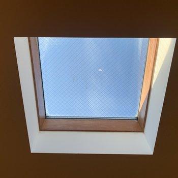途中、天窓がありました。※写真は前回募集時のものです