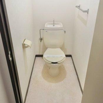 トイレはお気に入りのカバーを掛けて使いたい。