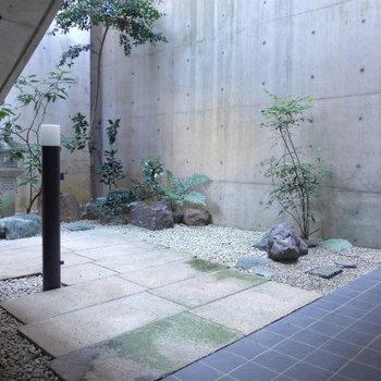 建物のとある場所にある、「和」!是非見つけてみてください!