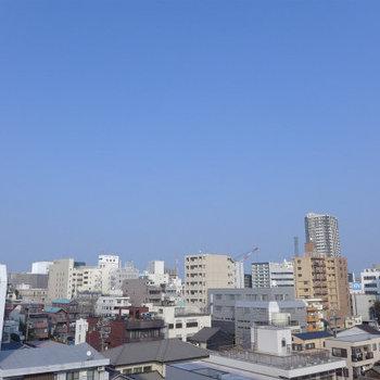7階なので、goodな眺望!
