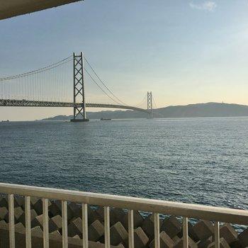 朝の海に魅せられて