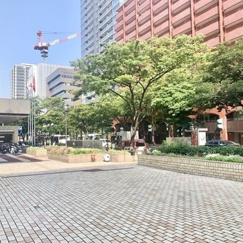 赤坂駅周辺はザ都会!って感じです〜!