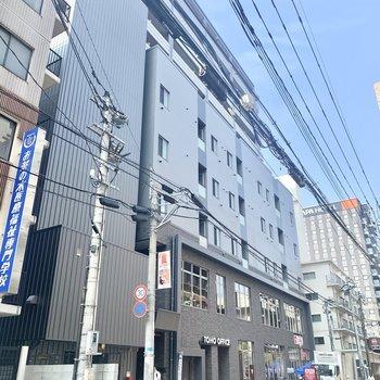 赤坂駅からは徒歩約5分の新築マンションです!